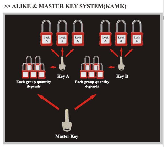 ALIKE-MASTER-KEY-SYSTEM(KAMK)